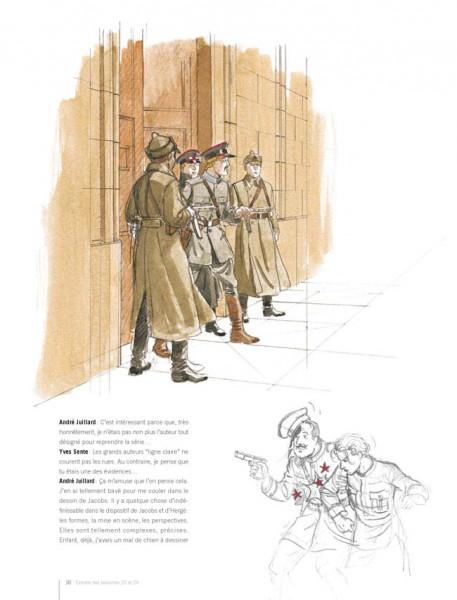 Book Dans les coulisses de Blake et Mortimer (french Edition)