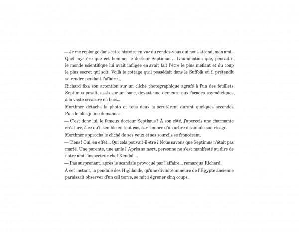 Album Blake et Mortimer, La Fiancée du Dr Septimus (french edition)