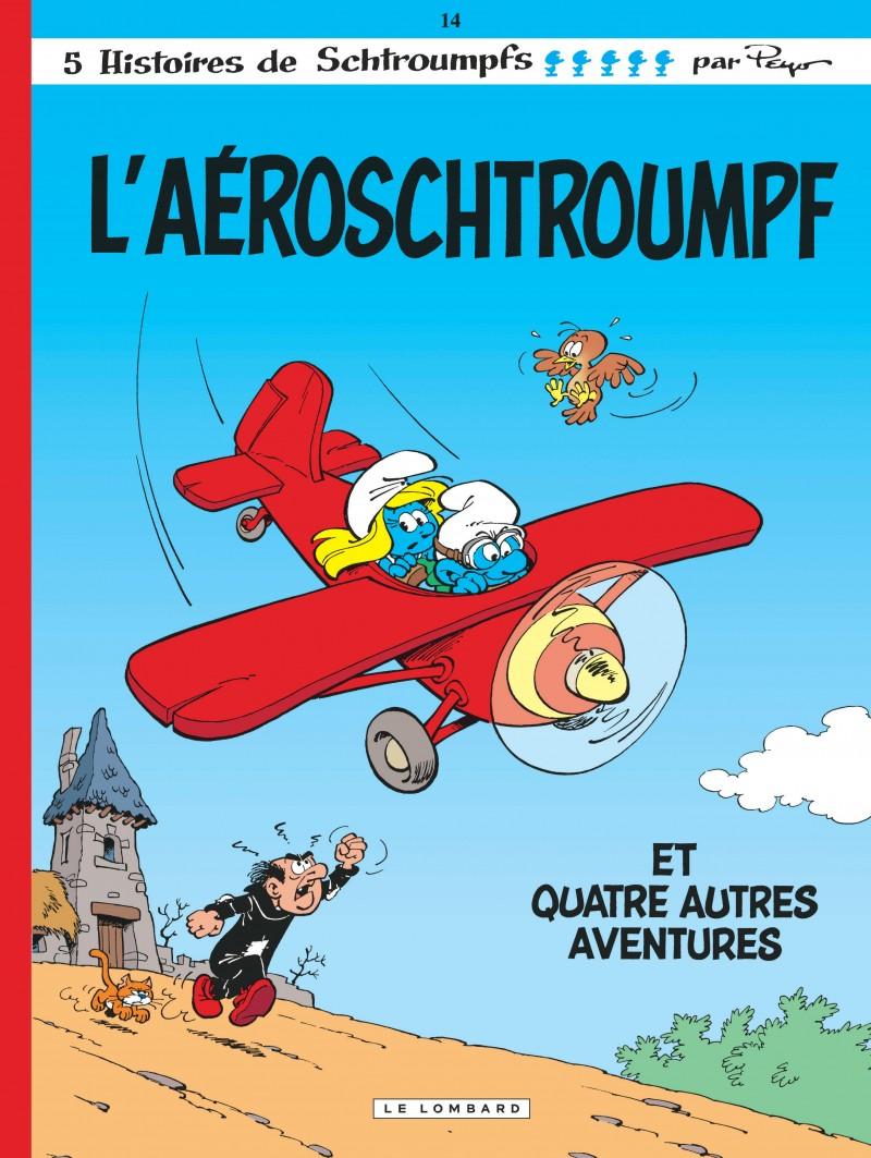 Les Schtroumpfs - tome 14 - Aéroschtroumpf (L')