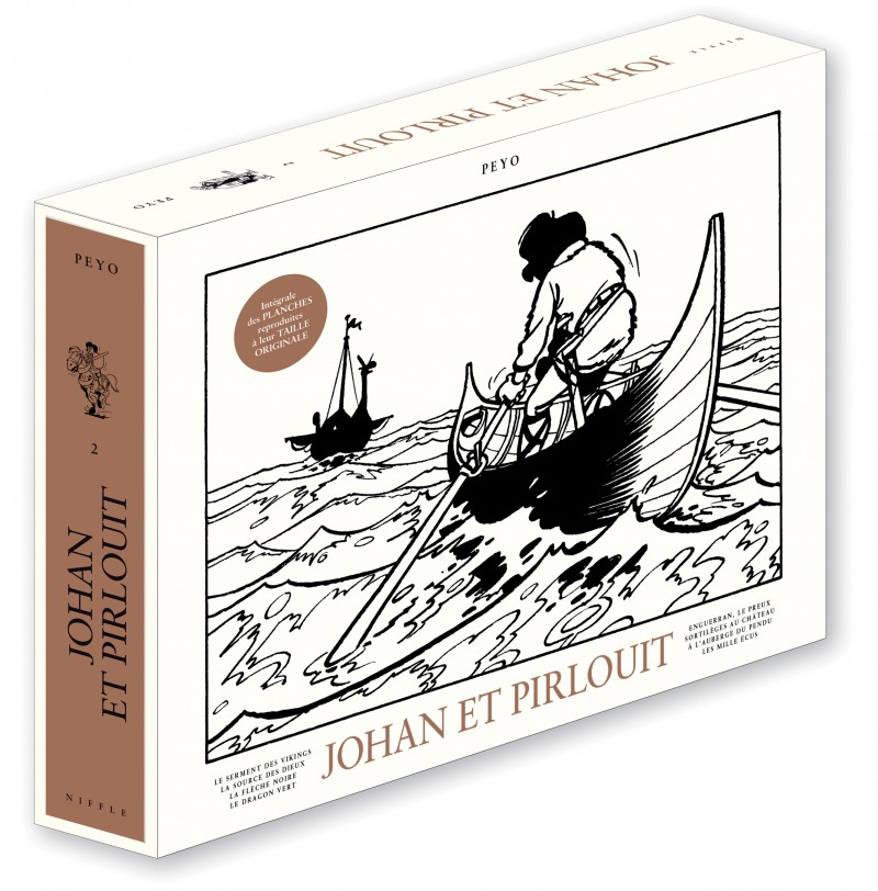 Johan et Pirlouit - coffret intégrale - tome 2 - Johan et Pirlouit Intégrale