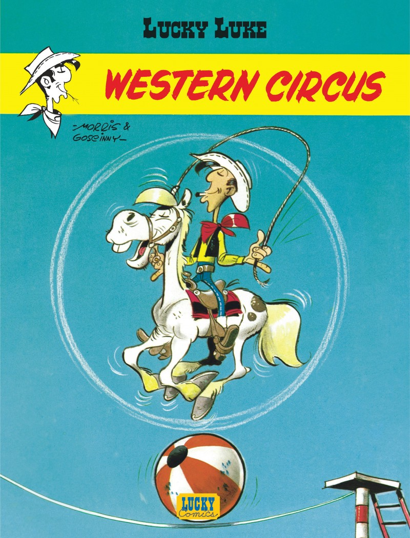 Lucky Luke - tome 5 - Western Circus