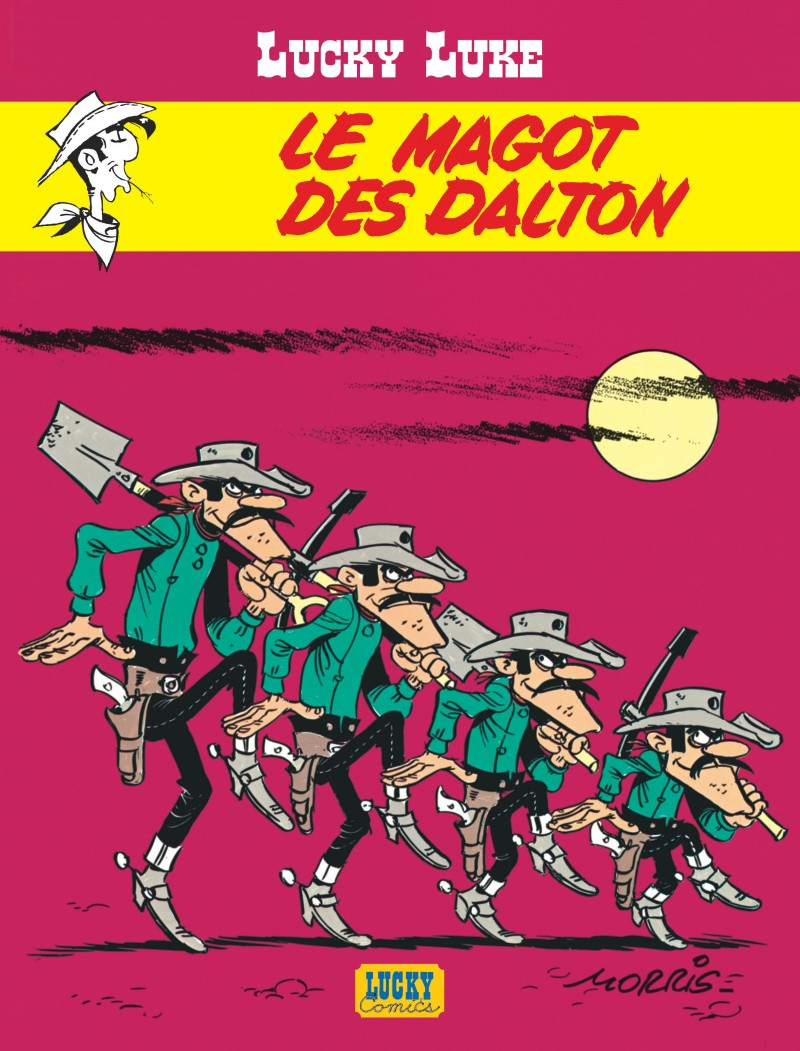 Lucky Luke - tome 16 - Le magot des Dalton