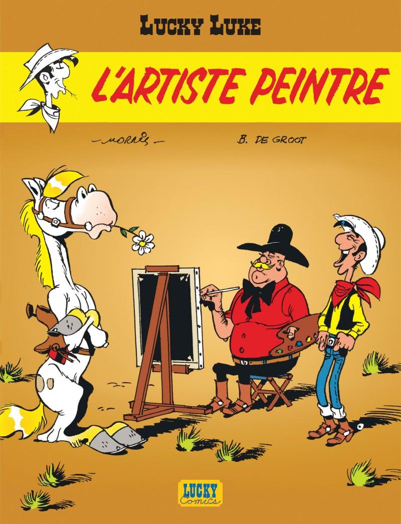Lucky Luke - tome 40 - L'artiste peintre