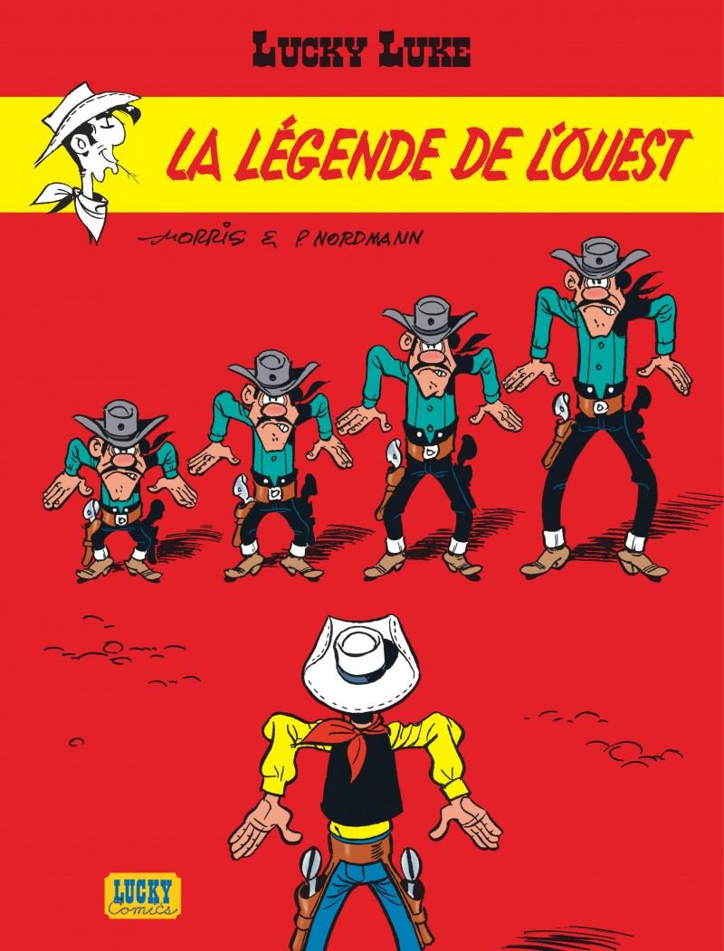 Lucky Luke - tome 41 - La légende de l'Ouest
