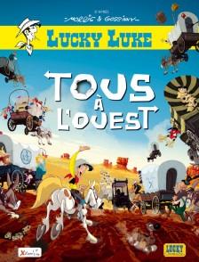 cover-comics-les-aventures-de-lucky-luke-d-8217-aprs-morris-tome-100-tous--l-8217-ouest