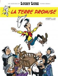 cover-comics-les-aventures-de-lucky-luke-d-8217-aprs-morris-tome-7-la-terre-promise