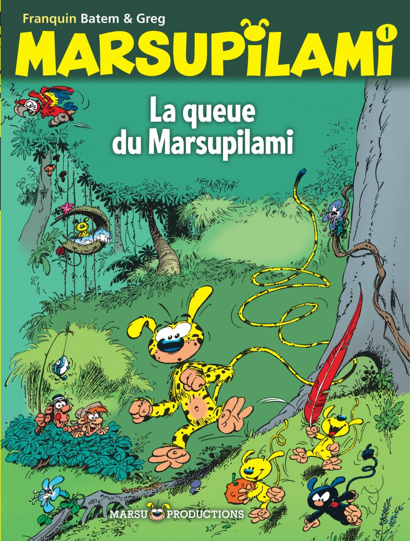 Marsupilami - tome 1 - La queue du Marsupilami