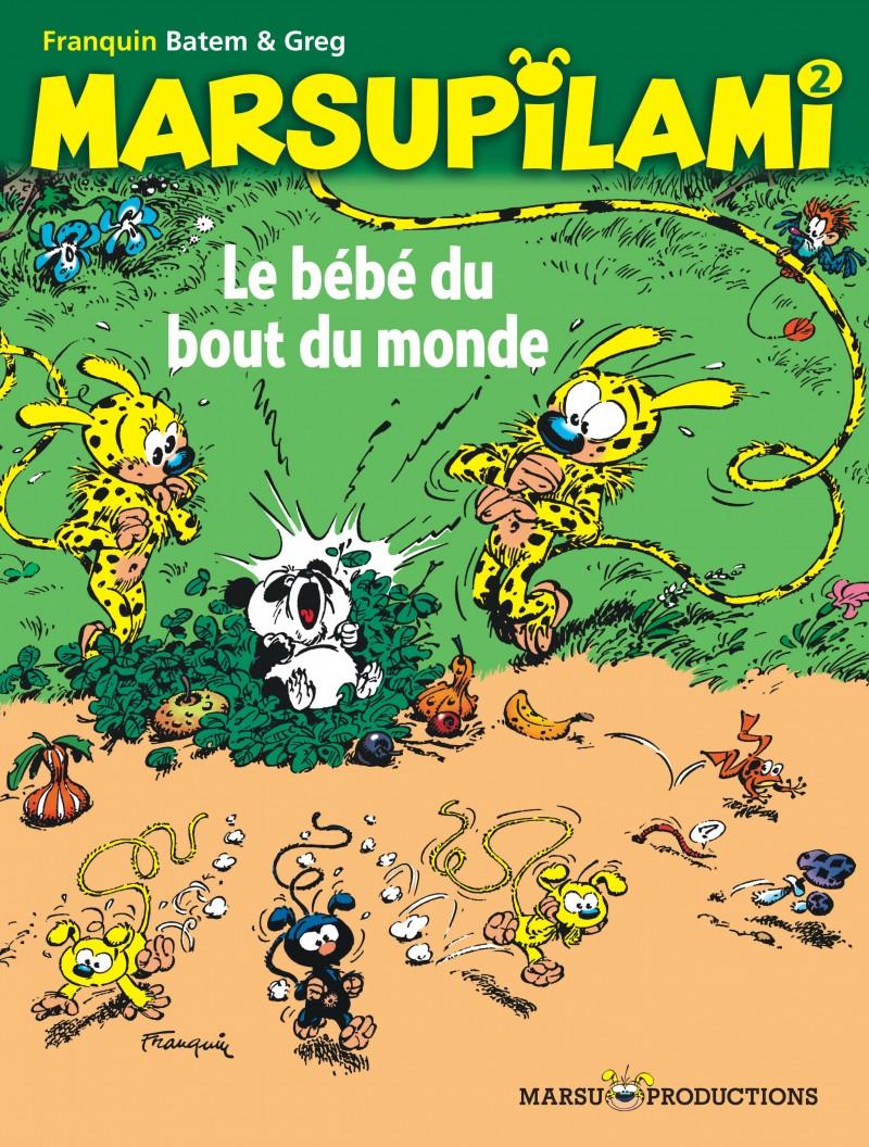 Marsupilami - tome 2 - Le bébé du bout du monde