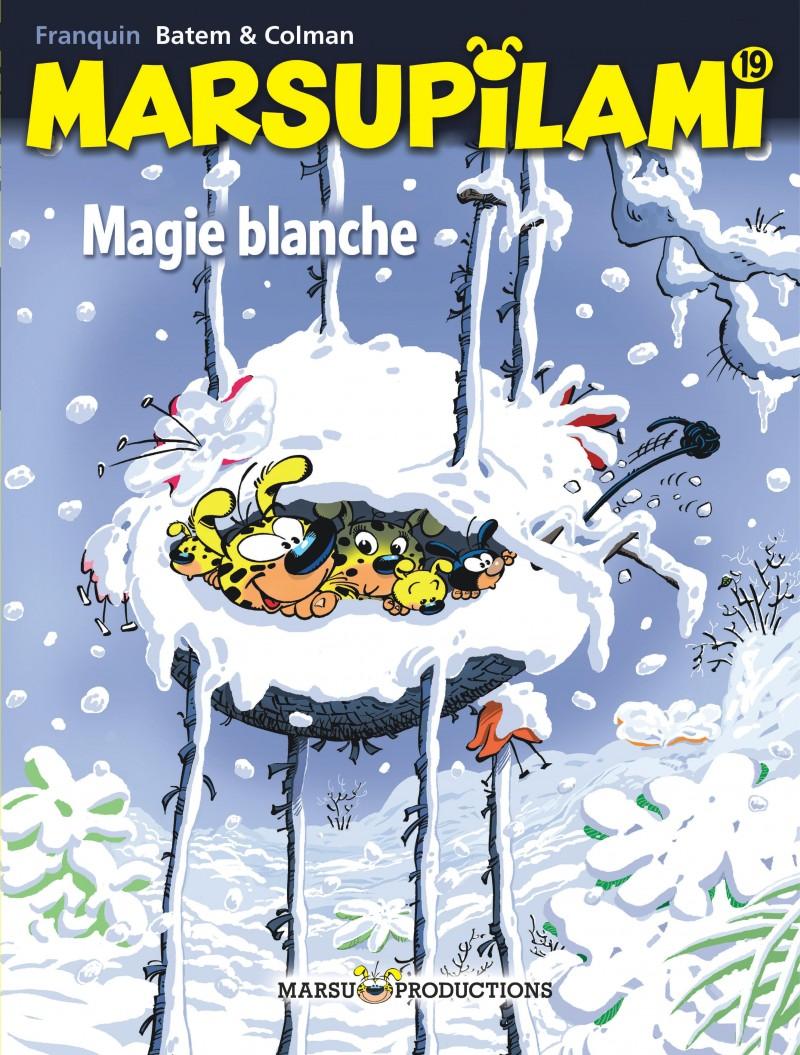 Marsupilami - tome 19 - Magie blanche