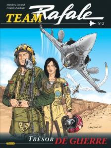 cover-comics-team-rafale-tome-2-trsor-de-guerre