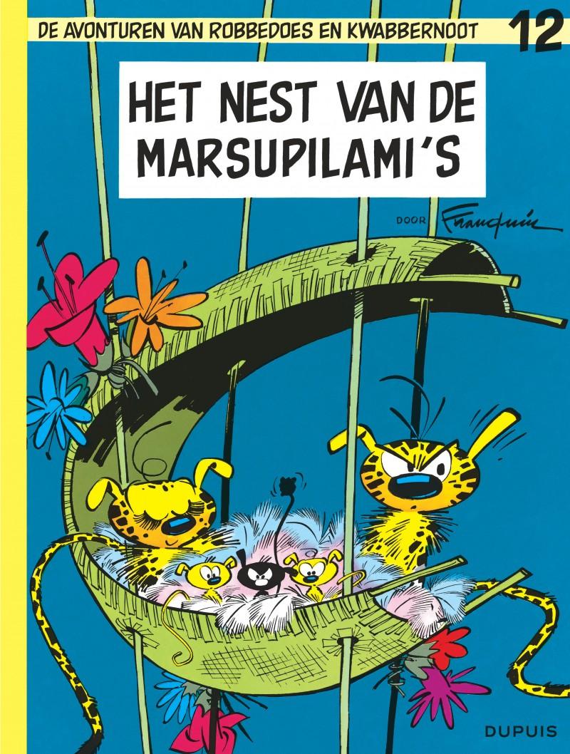 Robbedoes en Kwabbernoot - tome 12 - Het nest van de Marsupilami's