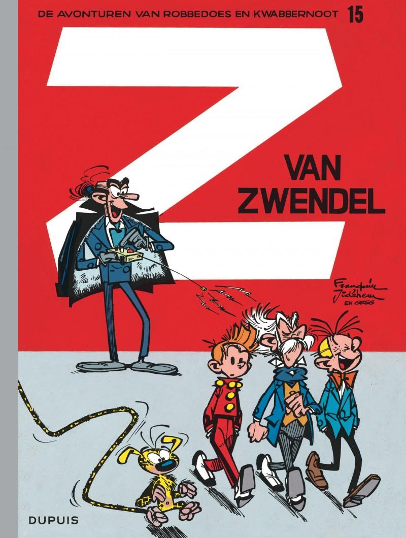Robbedoes en Kwabbernoot - tome 15 - Z van zwendel