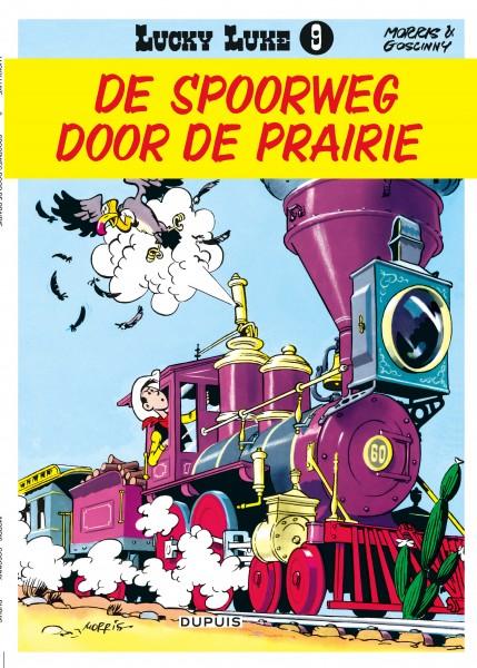 Lucky Luke (new look) - Spoorweg door de Prairie