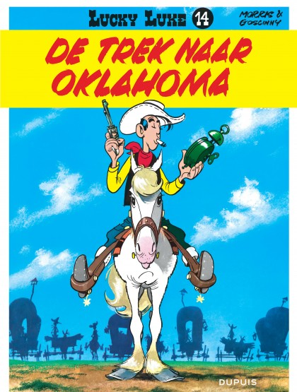 Lucky Luke (new look) - De trek naar Oklahoma