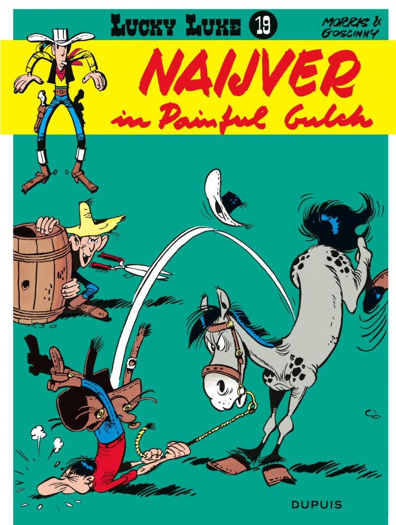 Lucky Luke (new look) - tome 19 - Naijver in painful Gulch