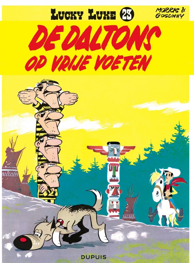 Lucky Luke (new look) - tome 23 - De Daltons op vrije voeten