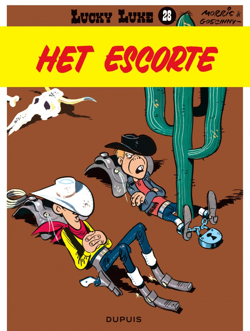 Lucky Luke (new look) - tome 28 - Het escorte