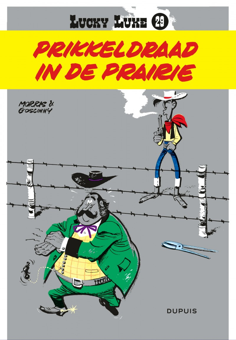 Lucky Luke (new look) - tome 29 - Prikkeldraad in de prairie