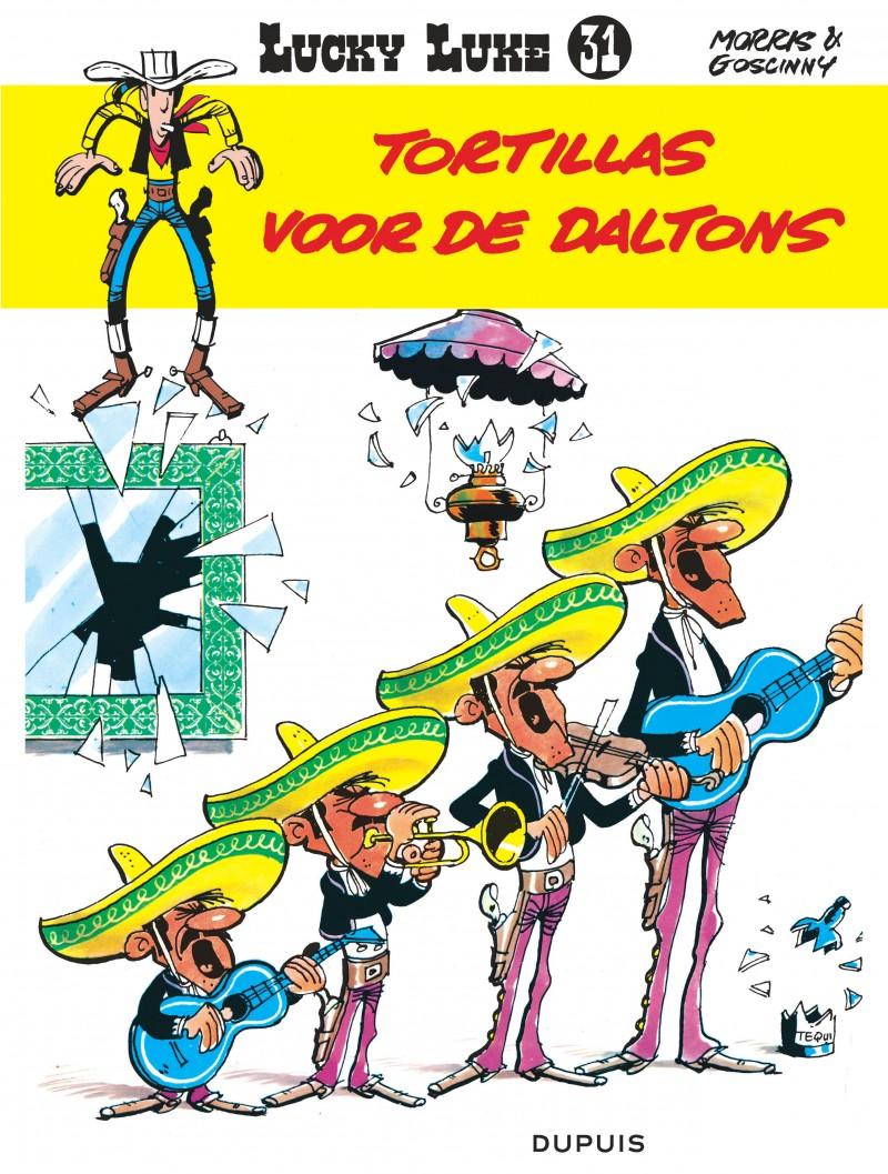 Lucky Luke (new look) - tome 31 - Tortillas voor de Daltons