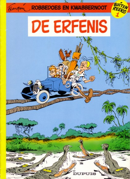 Robbedoes Special - De erfenis