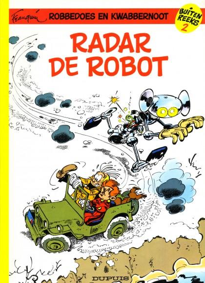 Robbedoes Special - Radar de robot
