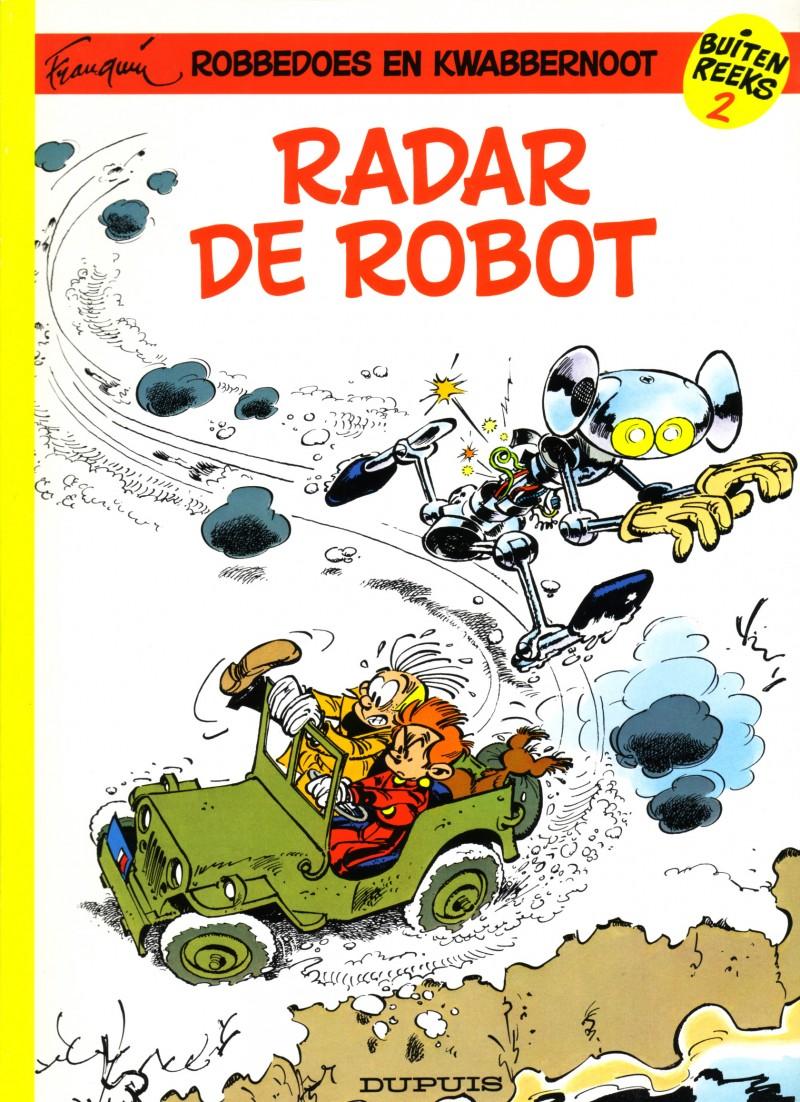 Robbedoes special Luxe - tome 2 - Radar de robot