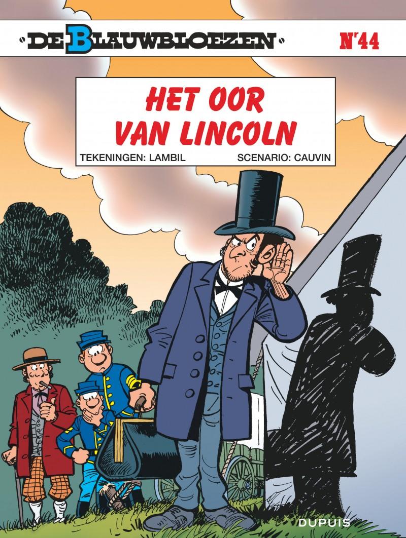 Blauwbloezen, De - tome 44 - Het oor van Lincoln