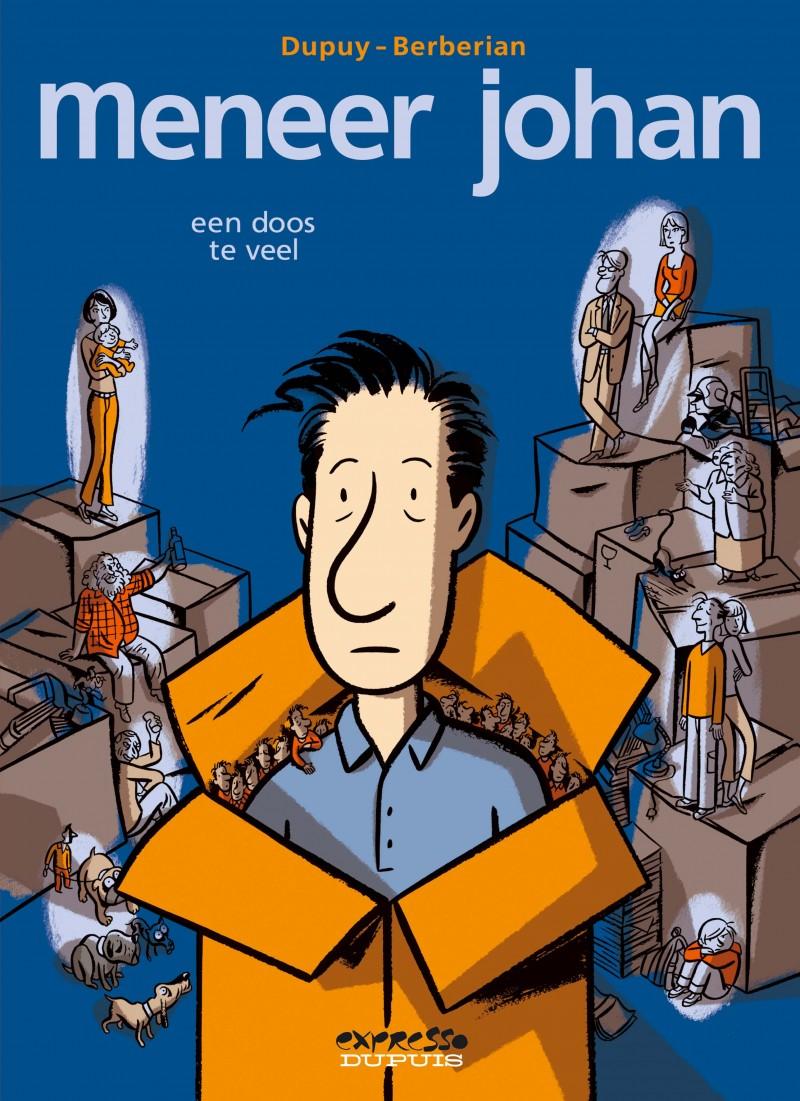 Meneer Johan - tome 6 - Een doos te veel