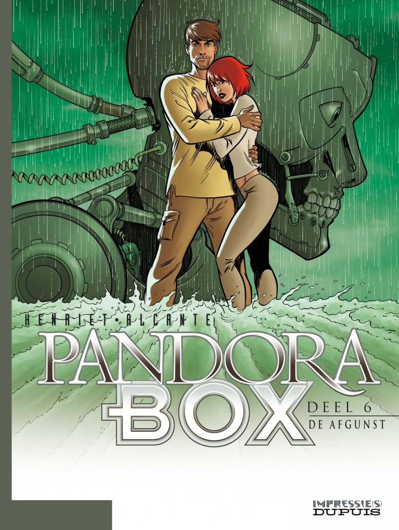 Pandora box - tome 6 - De afgunst - deel 6/8
