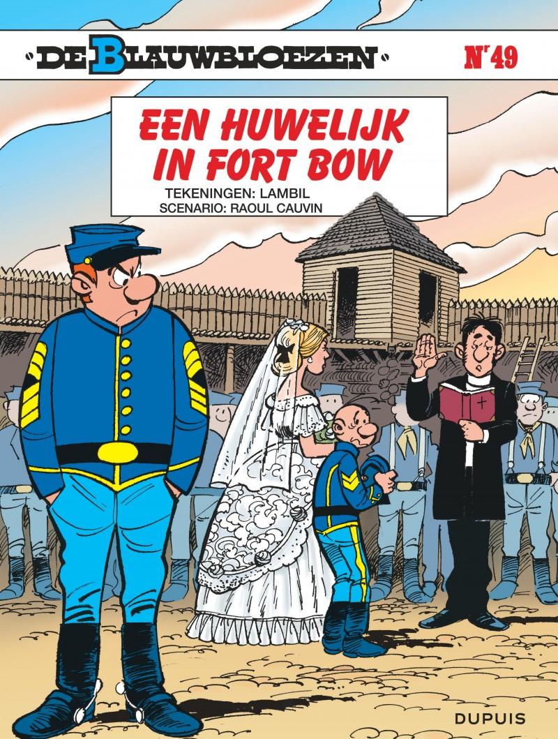 Blauwbloezen, De - tome 49 - Een huwelijk in Fort Bow