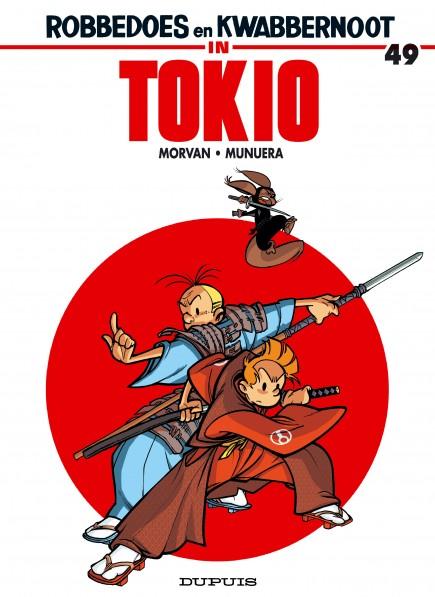 Robbedoes en Kwabbernoot - Robbedoes en Kwabbernoot in Tokio