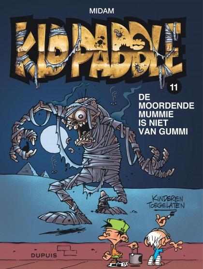 Kid Paddle - De moorendende mummie is niet van Gummi