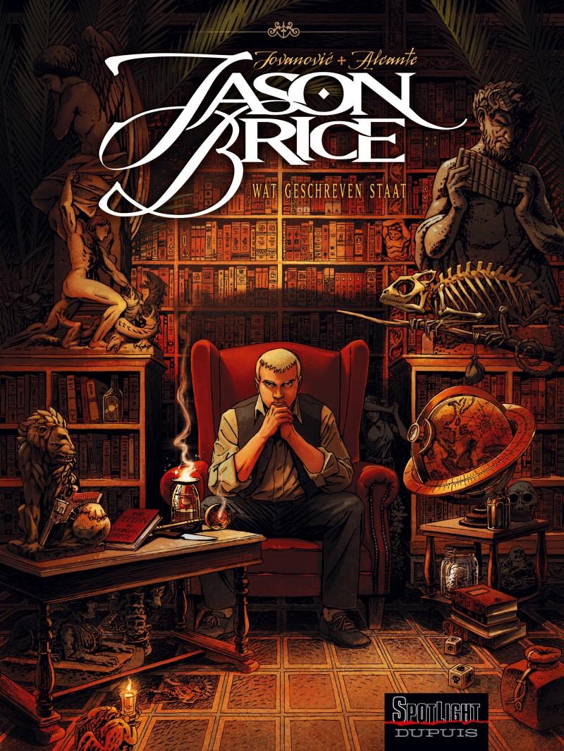 Jason Brice - tome 1 - Wat geschreven staat