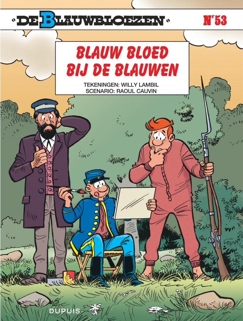 De Blauwbloezen - tome 53 - Blauw bloed bij de blauwen
