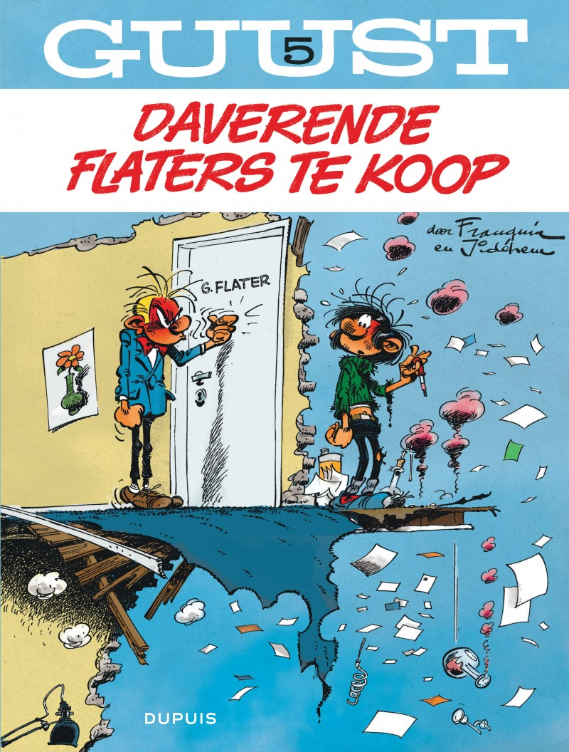 Guust Chrono - 60 jaar - tome 5 - Flaterfestijn