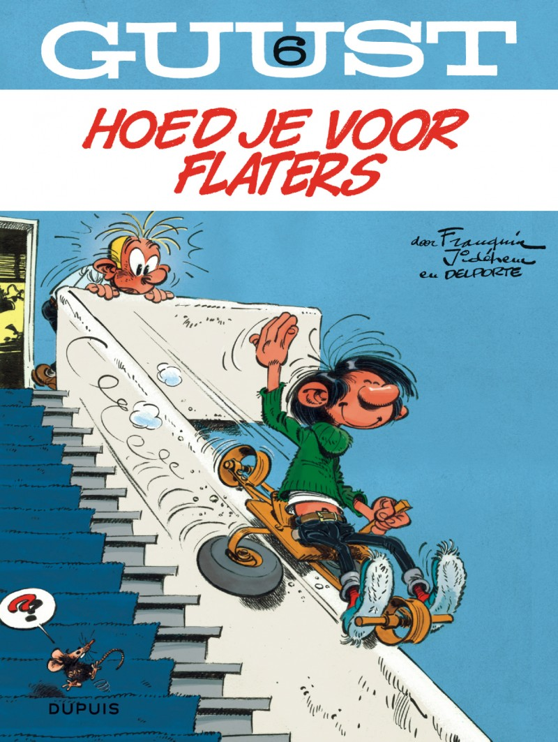 Guust Chrono - 60 jaar - tome 6 - Flappende flaters