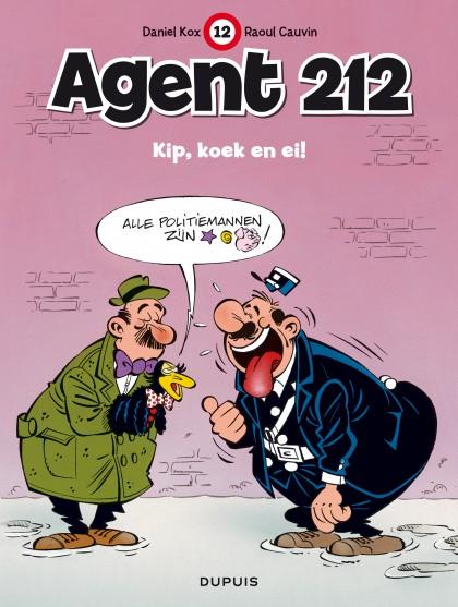 Agent 212 - Kip, koek en ei