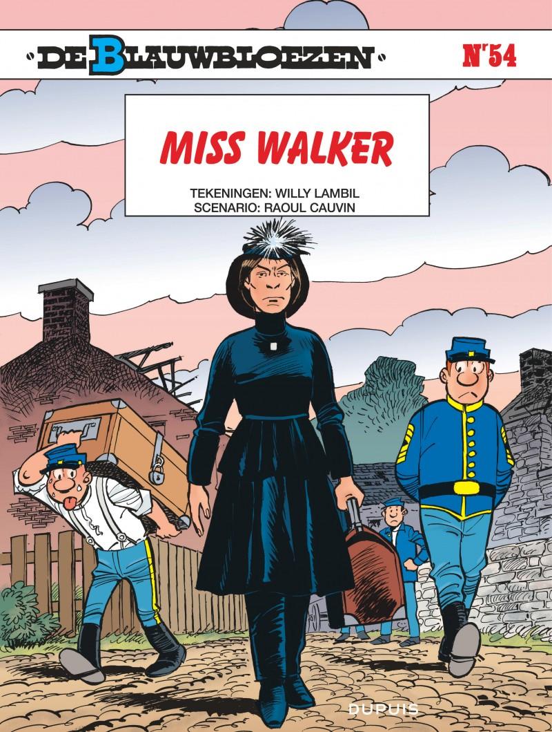 De Blauwbloezen - tome 54 - Miss Walker
