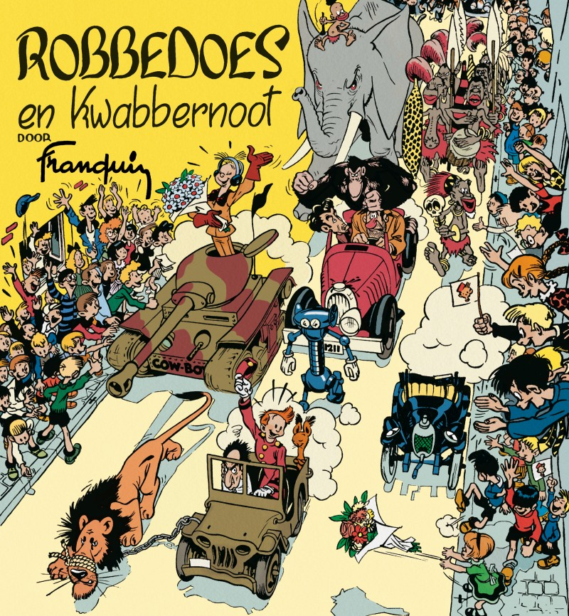 Robbedoes facsimile - Robbedoes & kwabbernoot - Franquin 1947
