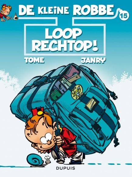 Kleine Robbe - Loop rechtop !