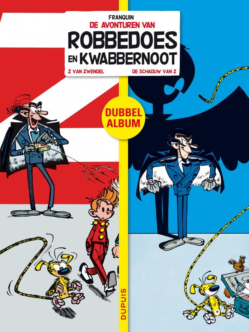 Robbedoes tweeluik - tome 1 - 'Z van Zwendel / De schaduw van Z