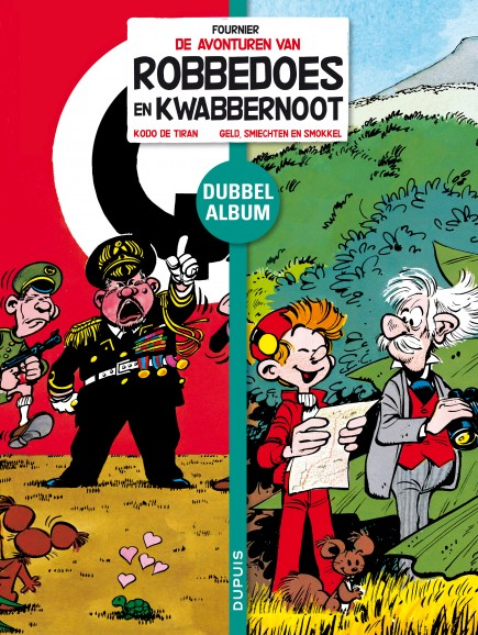 Robbedoes tweeluik - Koda, de tiran / Geld, smiechten en smokkel
