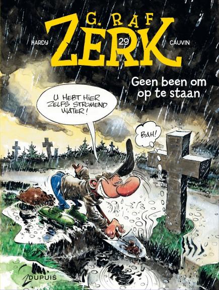 G.Raf Zerk - Geen been om op te staan