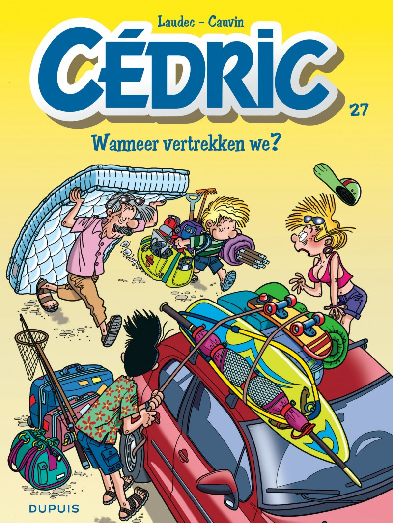Cédric - new look - tome 27 - Wanneer vertrekken we?