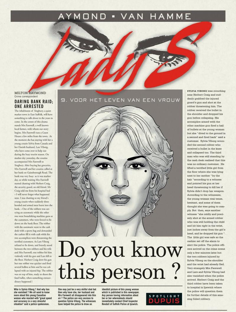 Lady S - tome 9 - Voor een vrouwenleven