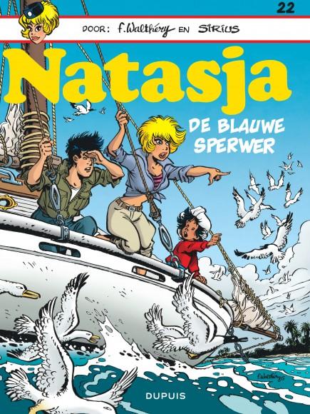 Natasja (Dupuis) - De blauwe sperwer