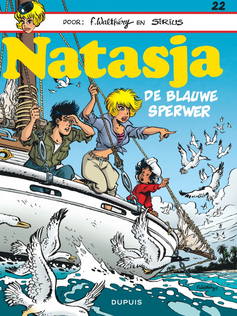 Natasja (Dupuis) - tome 22 - De blauwe sperwer