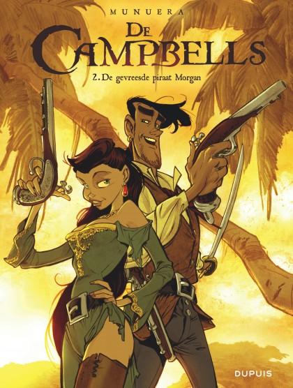 Campbells, De  - De gevreesde piraat Morgan