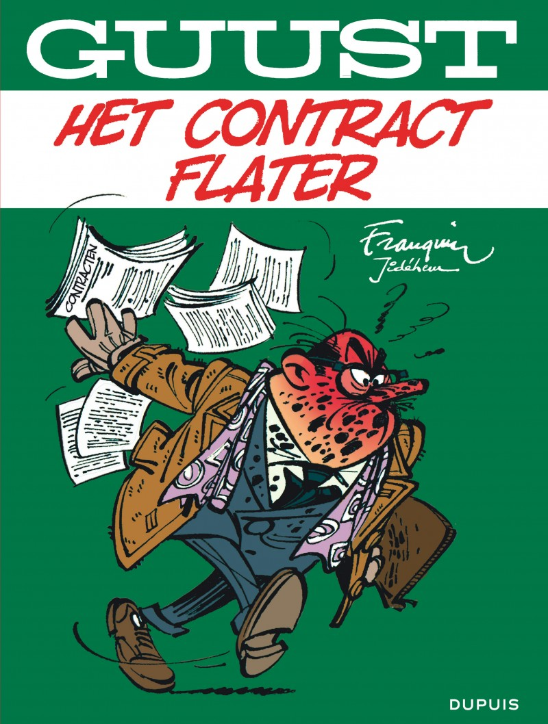 Guust Flater Best-Of  - tome 5 - Het contract Flater
