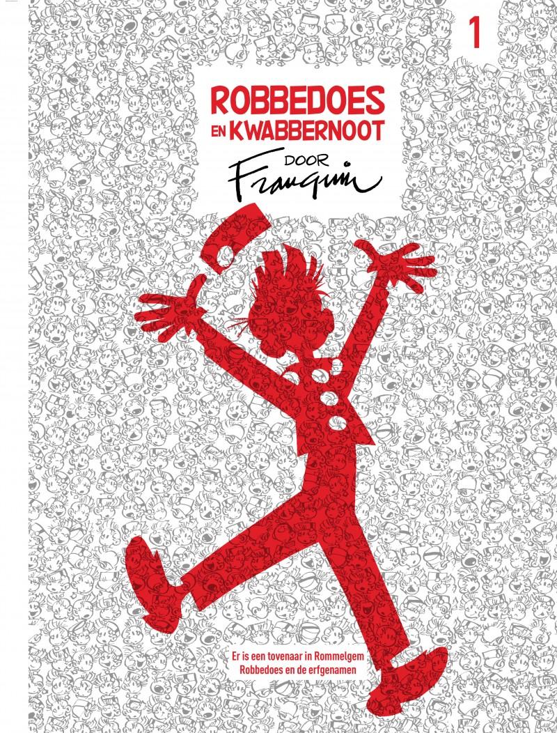 Robbedoes en Kwabbernoot door Franquin - tome 1 - Robbedoes en Kwabbernoot door Franquin 1